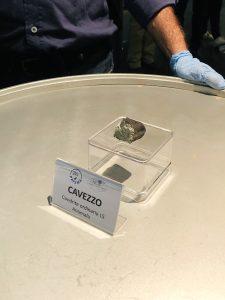 consegna meteorite Cavezzo