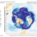 Freddo colossale in Antartide: fino a -8°C sotto la media, effetti anche sull'anomalia termica mondiale [MAPPE]