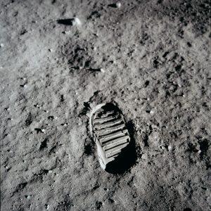 impronta apollo luna