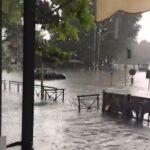 Maltempo, nubifragio a Roma: 80mm di pioggia in pochi minuti, centinaia di interventi dei Vigili del Fuoco per allagamenti [FOTO]