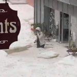Maltempo Francia, apocalittica grandinata a Plombières-les-Bains: accumuli di pioggia e ghiaccio fino ad un metro [FOTO e VIDEO]