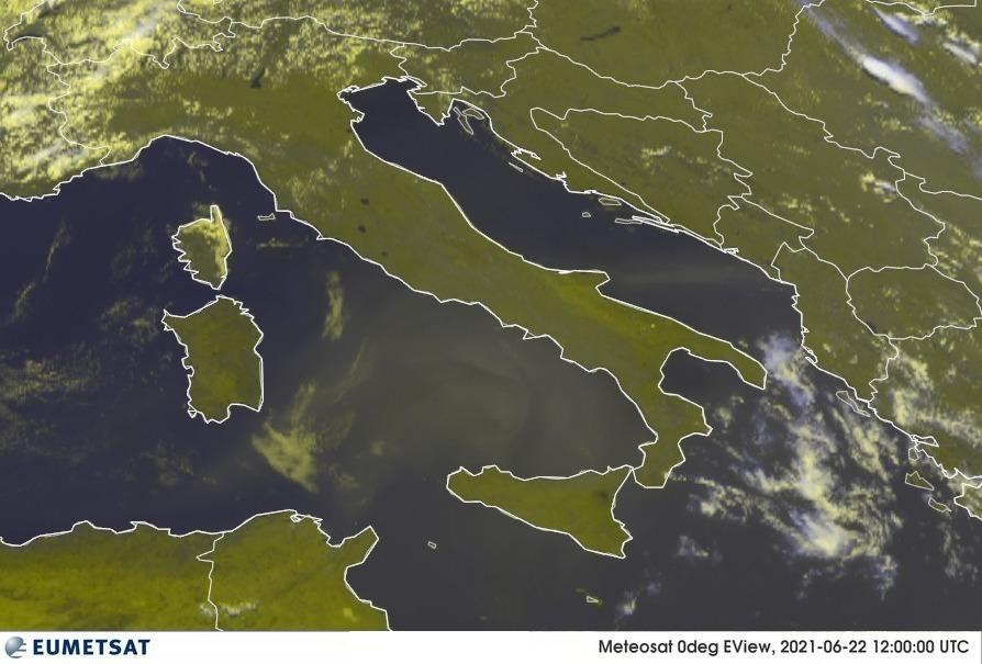 meteo italia 22 giugno 2021
