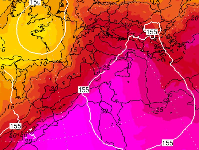 ondata di caldo 28 giugno 2021