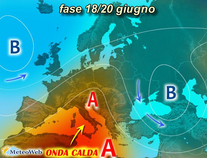 previsioni meteo 18-20 giugno