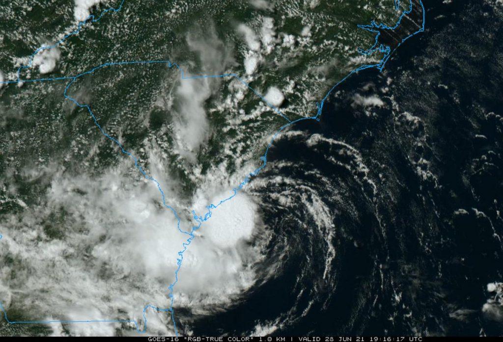 tempesta tropicale Danny
