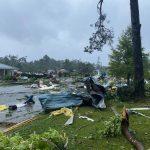 """Meteo, prima tempesta tropicale della stagione si abbatte sugli USA: """"Claudette"""" porta piogge torrenziali e tornado nella Costa del Golfo [FOTO]"""