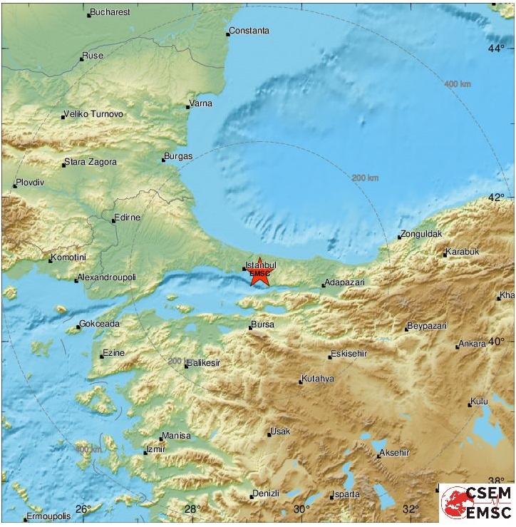 terremoto turchia istanbul