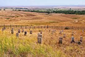 tombe soldati little bighorn
