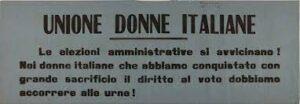 unione donne italiane