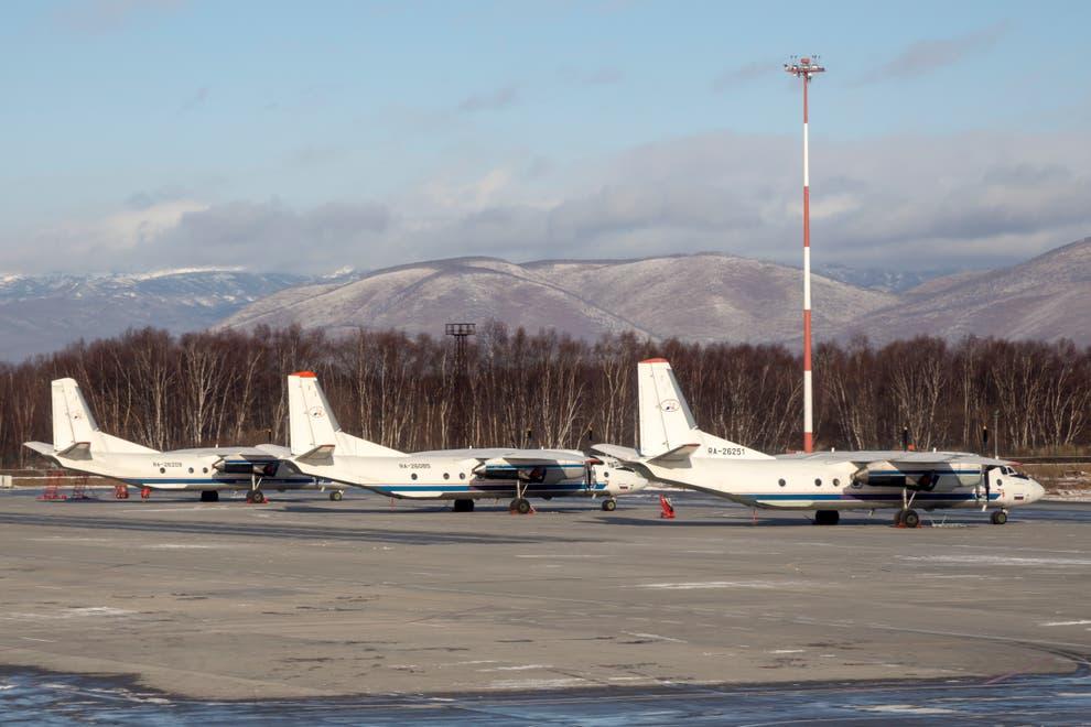 Antonov An-26 incidente aereo russia