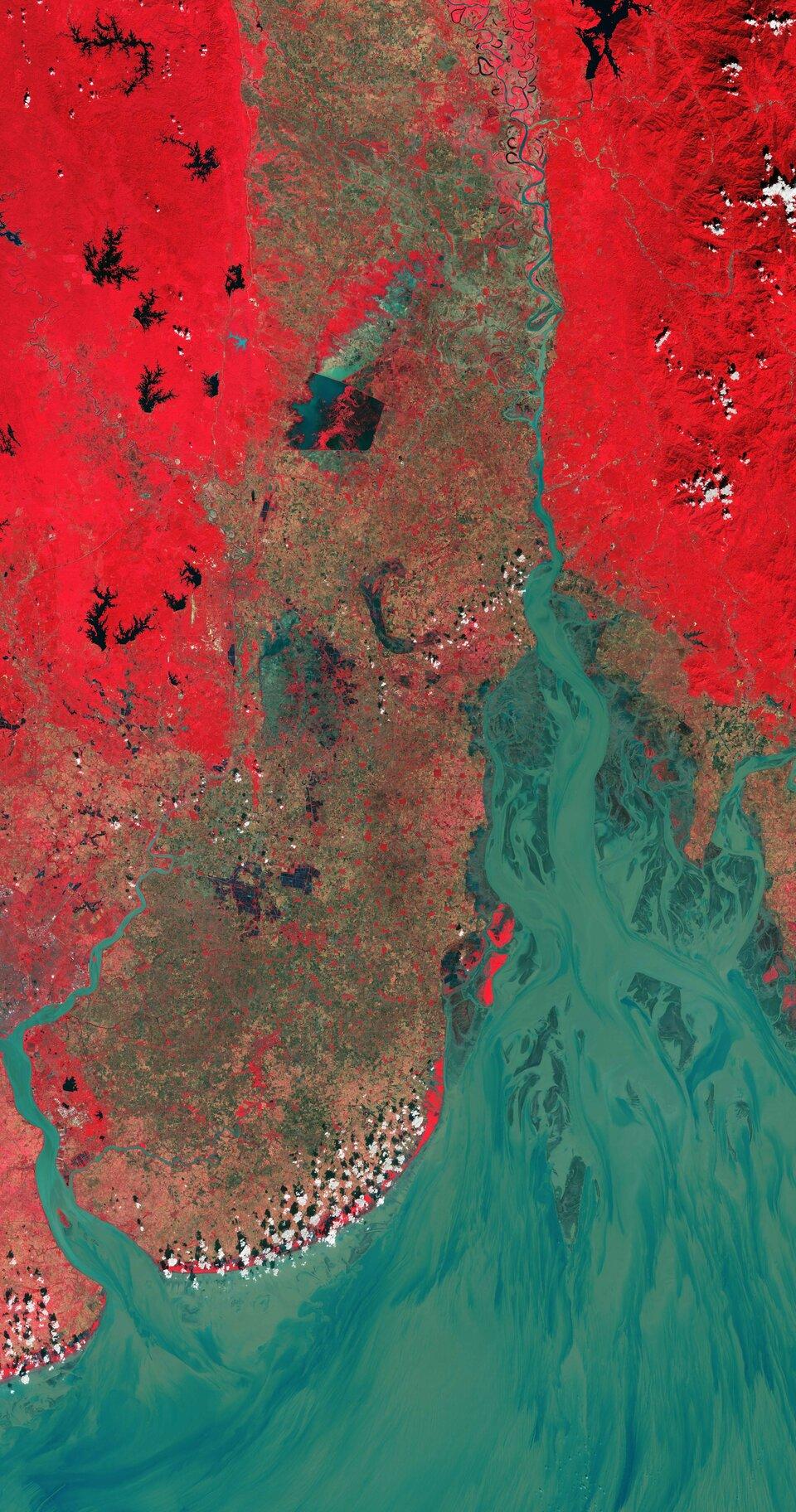 Golfo di Martaban, Myanmar