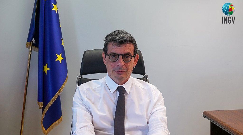 Il Direttore Generale dell'INGV, Jair Lorenco