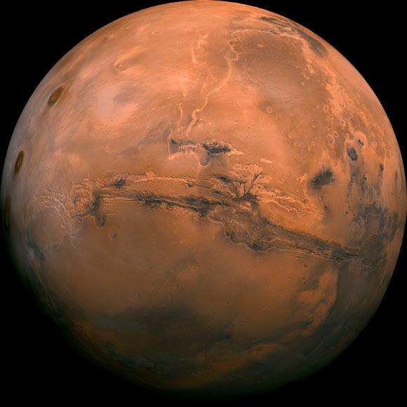 Valles Marineris Marte