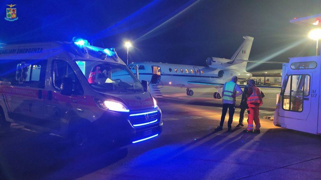 Volo Ambulanza Cagliari Ciampino