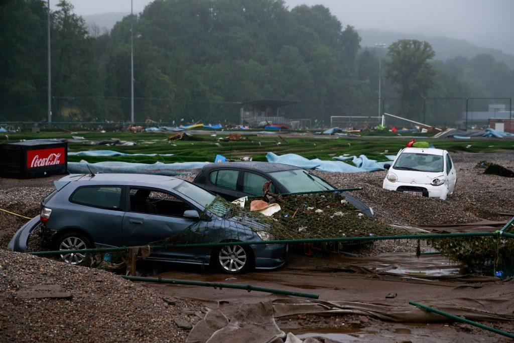 Alluvioni in Belgio