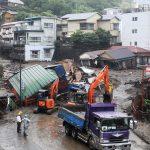 Disastrosa frana in Giappone: 2 morti e 20 dispersi, operazioni di soccorso complicate dal maltempo [FOTO]