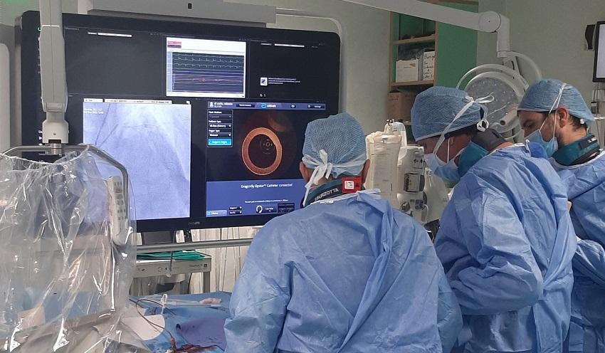 catetere coronarie gemelli