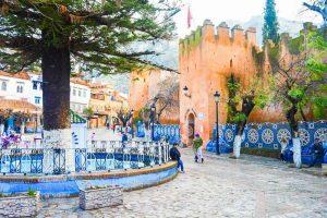 città blu marocco Uta-al-Hamman