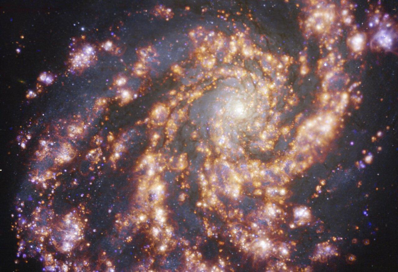 galassia NGC 4254