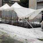 Maltempo a Torino, clamorosa grandinata imbianca la città e la temperatura crolla a +12°C – FOTO e VIDEO