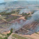Decine di incendi in Sardegna oggi: paura a Macomer, aziende agricole distrutte e fiamme vicino alle case [FOTO]