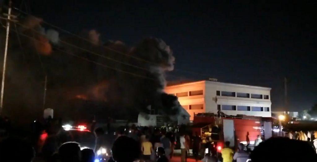 incendio Nassiriya
