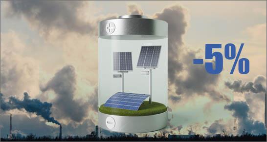 inquinamento atmosferico e fotovoltaico