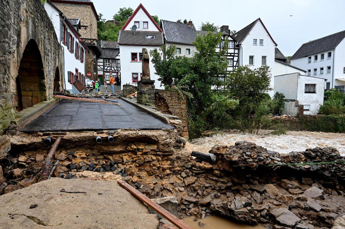 Maltempo alluvione germania