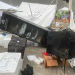 Maltempo Lombardia, vento e grandine seminano danni nel Bresciano e nella Bergamasca: serre distrutte e gazebo spazzati via – FOTO e VIDEO