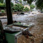Forte maltempo nel cuore dell'Europa, piogge torrenziali e forti venti in Germania, Paesi Bassi, Belgio e Svizzera: allagamenti diffusi e alberi abbattuti – FOTO