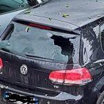 Maltempo, violenta grandinata nel Mantovano: chicchi grandi come albicocche devastano auto e agricoltura – FOTO