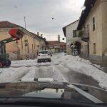 Maltempo Piemonte, forte supercella nel Cuneese: grandine grossa a Fossano, imbiancata Villafalletto – FOTO E VIDEO