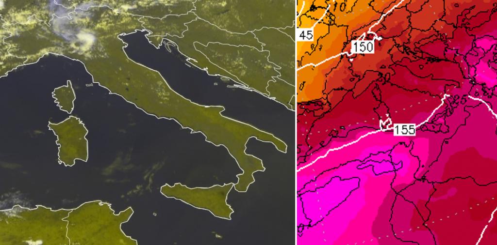 meteo italia 30 luglio 2021