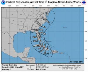 uragano elsa