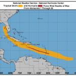 Elsa si rafforza al largo della Florida e diventa di nuovo un uragano: landfall tra poche ore [MAPPE]