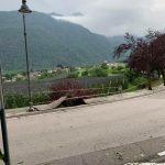 Maltempo, pioggia e grandine in Trentino: danni tra Alto Garda e Vallagarina, sradicati alberi secolari a Roncegno Terme [FOTO]