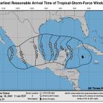 Grace si rafforza e diventa un uragano: si dirige verso lo Yucatan, allerta meteo da Cancun a Punta Herrero [MAPPE]