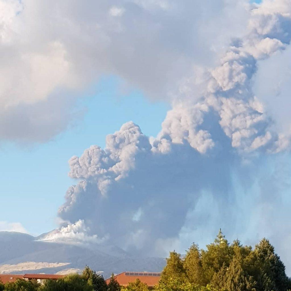 eruzione etna 29 agosto 2021