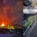 Spettacolare nuovo parossismo dell'Etna nella notte: i paesi etnei si svegliano seppelliti dalla cenere [FOTO]