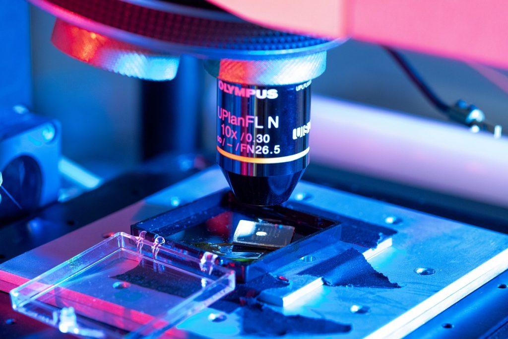 il sistema di misura utilizzato per la caratterizzazione dei fotorivelatori a doppia-banda