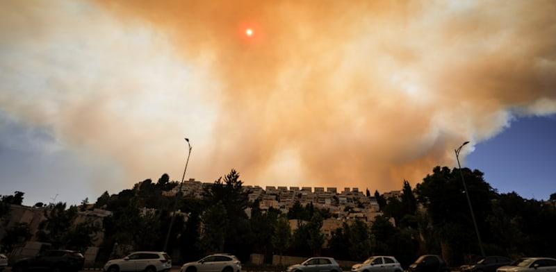 incendi Gerusalemme