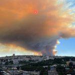 Incendio divampa in Israele, case in fiamme nell'area di Gerusalemme: enorme nube di fumo avvolge la capitale e oscura il sole [FOTO e VIDEO]