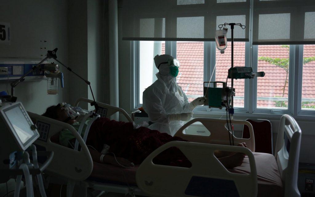 ricoverato terapia intensiva