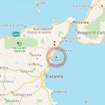Terremoto in Sicilia: scossa davanti a Giarre, lungo la costa catanese – MAPPE e DATI