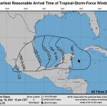 L'uragano Grace si abbatte sulle coste del Messico: forti piogge e venti impetuosi nella penisola dello Yucatan