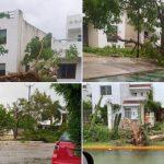 L'Uragano Grace si abbatte sulla costa caraibica del Messico, landfall a Sud degli antichi templi Maya di Tulum [FOTO]