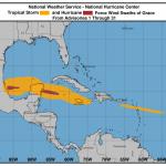 Grace si rafforza e diventa un potente uragano di 3ª categoria: il Messico si prepara a un nuovo landfall [MAPPE]