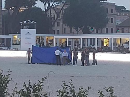Roma Global ChampionsTour cavalla morta