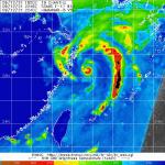 Tifone Chanthu: massima allerta nella Cina orientale, il landfall nelle prossime ore [MAPPE]