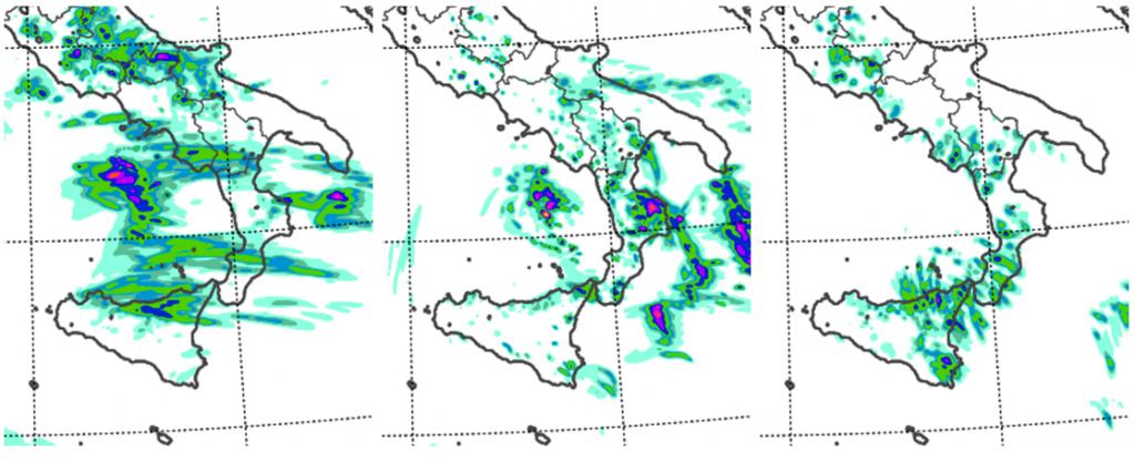 allerta meteo sud italia 4 e 5 settembre 2021